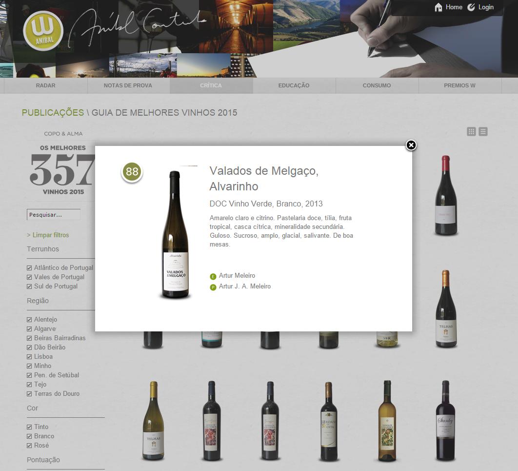 Melhores vinhos para 2015
