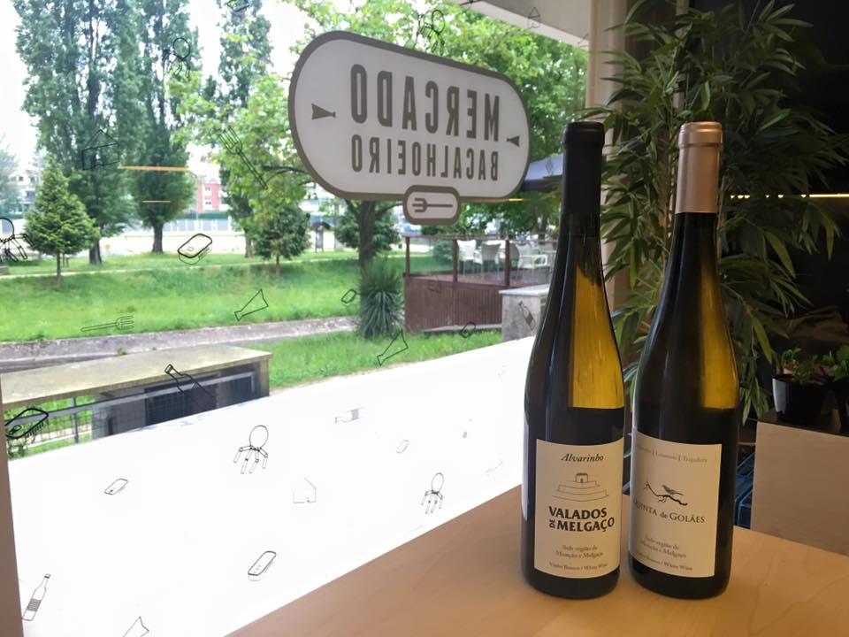 No Mercado Bacalhoeiro, em Braga, também pode comprar os vinhos Valados de Melgaço e harmonizar com os seus pratos preferidos.