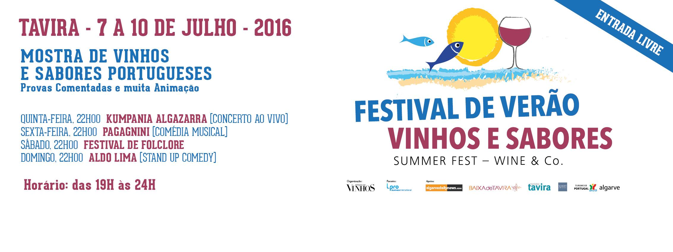 We will be in Tavira at the Summer Fest – Wine & Co., from 7th – 10th July. Come, taste our wines and find the magic of Alvarinho.
