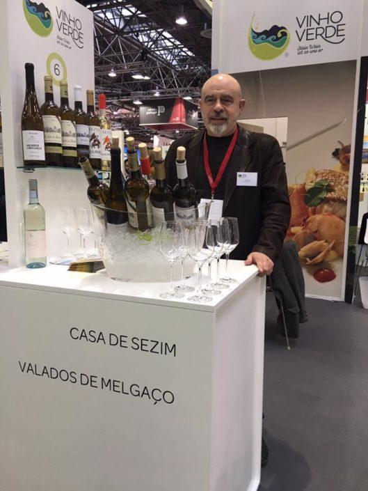 Pro Wien 2017 em Dusseldorf, a maior feira de vinhos do mundo