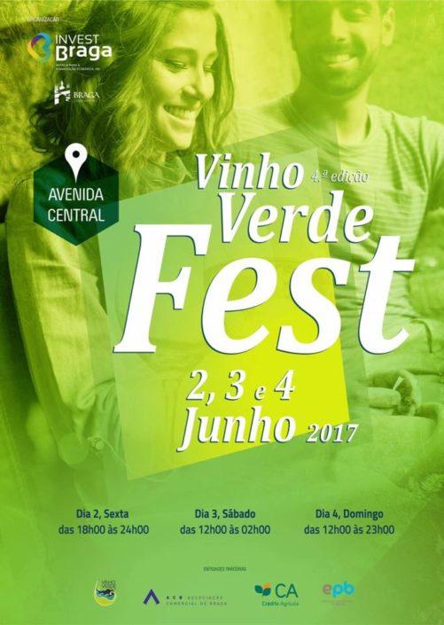 Não estaremos só na Alvarinho Wine Fest em Lisboa, mas também em Braga.