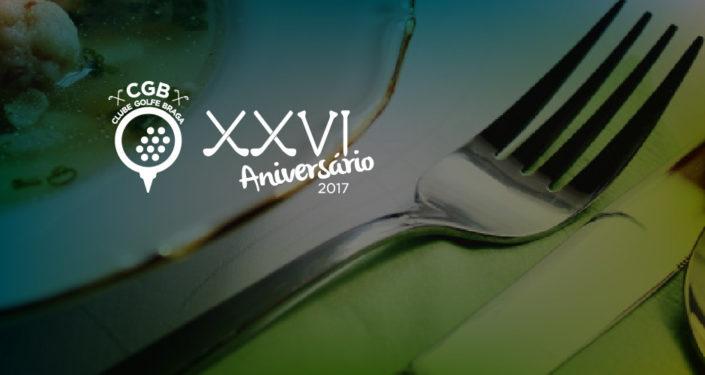 Vinhos Valados presentes no jantar comemorativo do XXVI aniversário do Clube Golfe Braga
