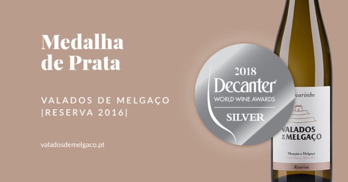 Medalha de Prata – Decanter Awards
